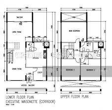 Maisonette Floor Plan 160 Bedok South Avenue 3 160 Bedok South Avenue 3 4 Bedrooms