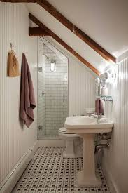 Ideas For Remodeling Small Bathrooms Best 25 Small Attic Bathroom Ideas On Pinterest Attic Bathroom