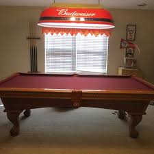 leisure bay pool table best pool table by leisure bay for sale in victor ashe park
