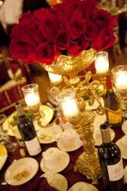 red rose candelabra centerpiece san diego wedding planner san