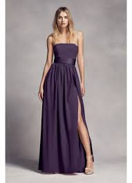 vera wang bridesmaid strapless bridesmaid dress with belt david s bridal