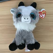 ty beanie boos gabby the 6 authentic new with tags ty beanie boo gabby the goat 6 inches us