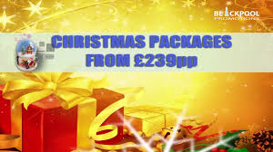 christmas holidays with blackpool promotions youtube