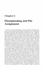 floorplanning and pin assignment springer