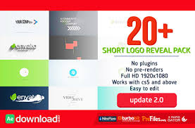 short logo reveal pack videohive project free download free