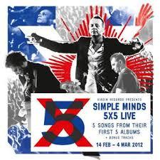 3 5 x5 photo album 5x5 live album