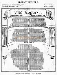 regent theatre floor plan the euston palace of varieties euston road and tonbridge street