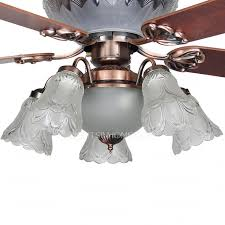 5 Light Ceiling Fan Blade And 5 Light Cognac High End Ceiling Fans With Lights Regard