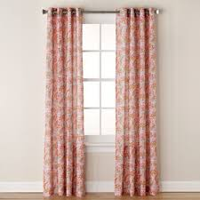 Coral And Navy Curtains Buy Coral Curtains From Bed Bath Beyond