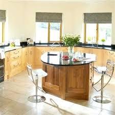ilot cuisine avec table table ilot cuisine agr able table salle a manger bois clair 8