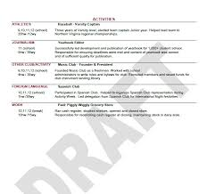 sample music resume for college application notes from peabody the uva application process sending resumes