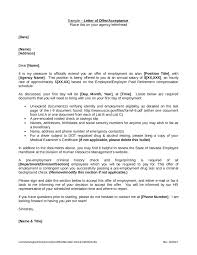 Human Resources Representative Offer Letter Format Free Offer Letter Sample