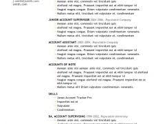 Successful Resume Format Excellent Resumes 15 Example Of A Good Resume Format Updated