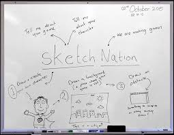sketch nation create education