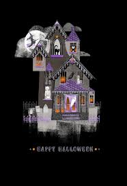 spirited haunted house halloween card greeting cards hallmark