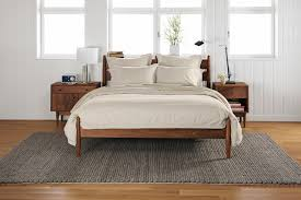 Room And Board Bed Frame Grove Bed Modern Bedroom Minneapolis By Room Board