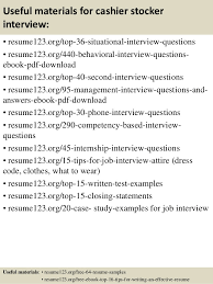Samples Writing Guide Bright Ideas by Bright Idea Stocker Resume 6 Overnight Stocker Resume Sample