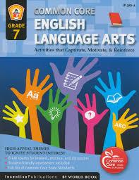 common core english language arts activity book grade 7 english