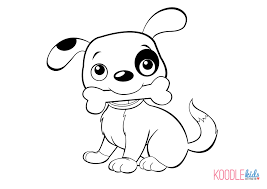 coloring pages draw a puppy coloring pages learn language me