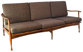 Mid Century Sofa 1960s 3 Seater Sofa Sold Inabstracto