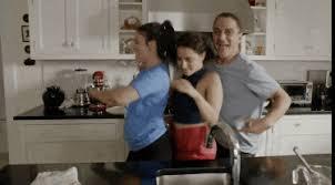 kitchen gif broad city dancing tony danza animated gif popkey