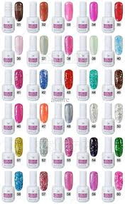harmony gelish nail polish color chart best nail ideas