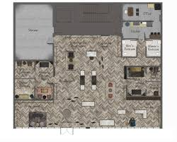 Shop Floor Plans Rendered Bridal Shop Floor Plan Bridal Boutique Design Project
