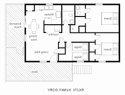 efficient house plans best of house plans 4 bedroom 3 bath 1 story