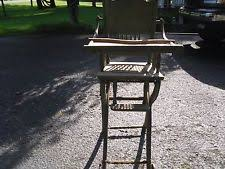 Antique Wooden High Chair Antique High Chair Ebay