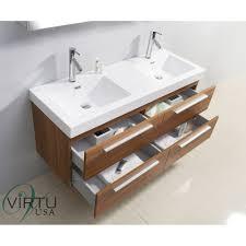 virtu usa jd 50754 finley 54 double sink bathroom vanity vanity