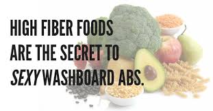 8 fiber rich foods for a washboard tummy