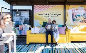 ikea catalogue ikea 2018 catalogue launch caign adshel outdoor advertising