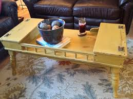 Ethan Allen Coffee Table by Hand Made Vintage Ethan Allen Coffee Table Early American Solid