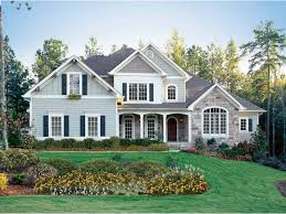 New American House Plan With  Square Feet And  Bedrooms From - Dream home design