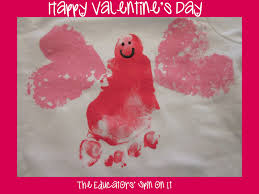 valentine crafts for babies and toddlers kiddy crafty