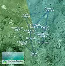 Reno Map Neighborhood Councils Reno Sparks Neighborhoods