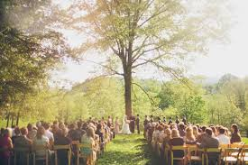 wedding venues in asheville nc outdoor farm wedding in asheville nc junebug weddings