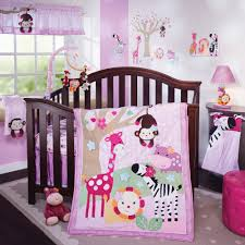 Baby Bed Comforter Sets Jelly Bean Jungle 4 Crib Bedding Set Nursery Pinterest