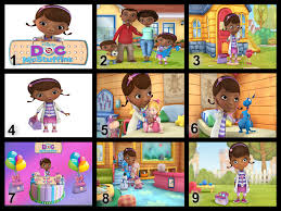 doc mcstuffins edible image personalised doc mcstuffins edible cake topper wafer paper icing paper