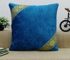 velvet home decor designer pillow sham cushion cover case choose
