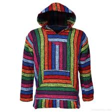 Mexican Rug Sweater Drug Rug Mexican Baja Hoodies At Discount Prices From The Hippie Shop