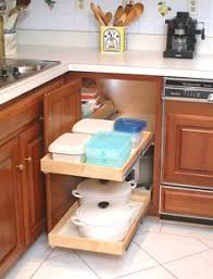 corner cabinet pull out shelf blind corner cabinet solution create easier access to your corner