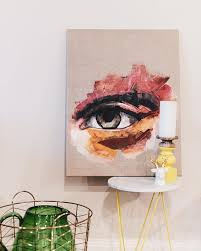 unique painting about meaghan coles visual artist
