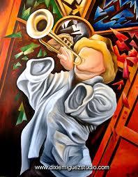 trompeta cuban art painting miguez by miguez cuban art via flickr