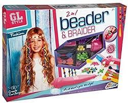 fashion hair beader gl style 2 in 1 beader braider hair beading braiding set