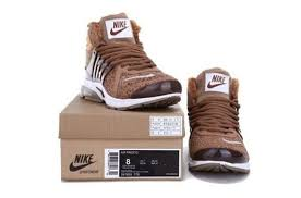 brand fashion for nike air presto mens shoes high brown
