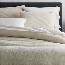 lindstrom white full queen duvet cover crate and barrel