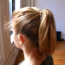 simple hairstyles with one elastic easy hairstyles for the gym how to instructions shape magazine
