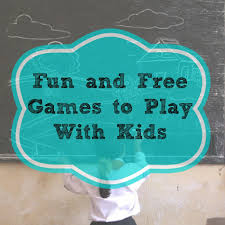 fun and free games to play with kids growing as we go