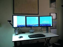 best corner desk for 3 monitors dual monitor computer desk dual computer desk perfect dual monitor